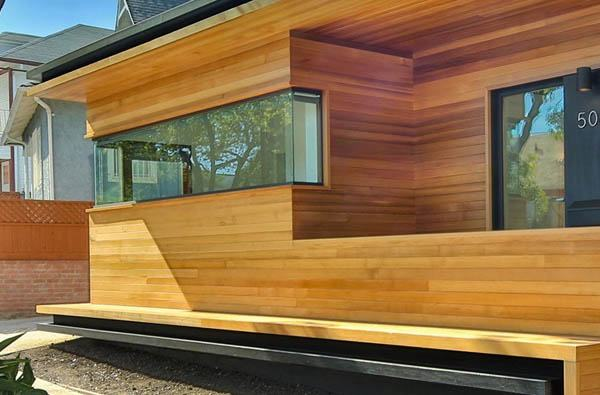 Real Cedar Wood Siding